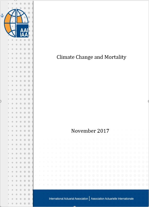 Climate Change and Mortality