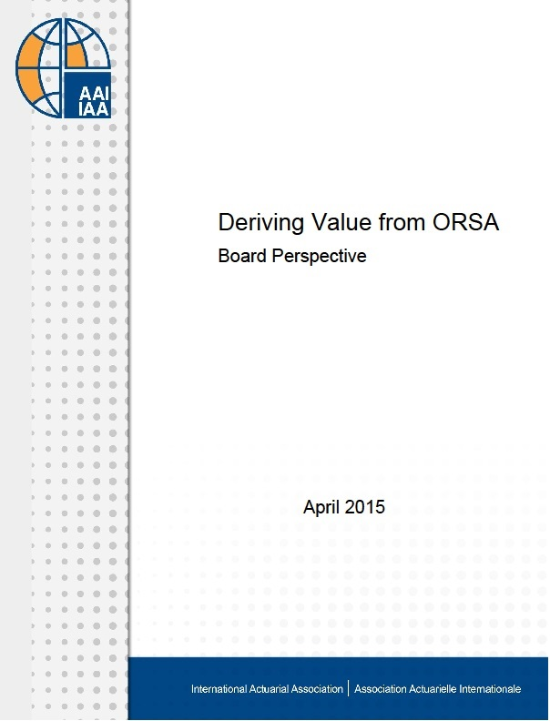 Deriving Value from ORSA